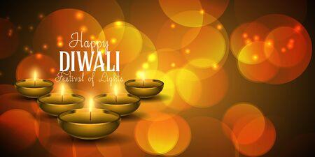 Decorative Diwali banner design