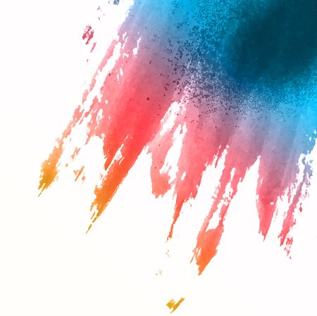 Abstract background with a watercolour splat texture Banco de Imagens - 131083849