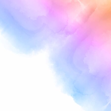 Pastel coloured detailed watercolour background