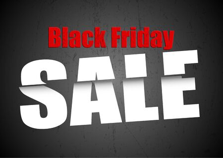 Black Friday sale background with grunge texture 写真素材