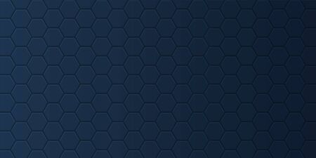 Abstract banner with a subtle hexagonal pattern design