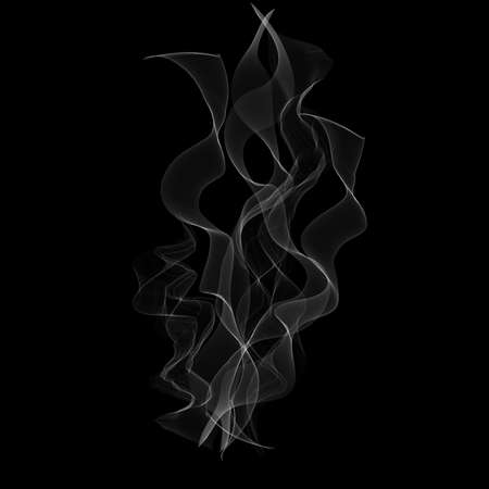 Abstract background with a smoke effect