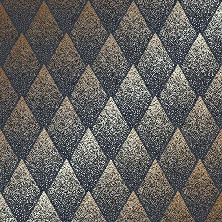 Halftone dots diamond pattern design background 向量圖像