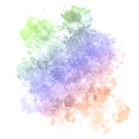 Painted background with a detailed watercolour texture