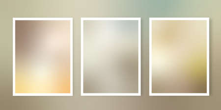 Collection of earth toned themed gradient backgrounds