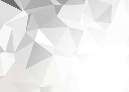 Abstract low poly background in monochrome colours