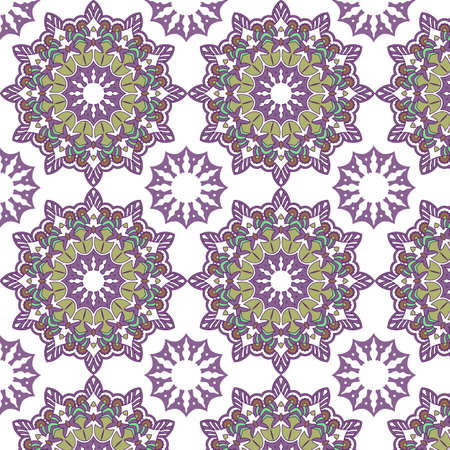 Abstract background with a decorative mandala pattern design