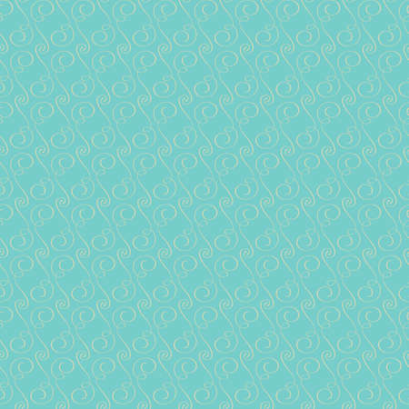 Seamless tiled background with decorative swirl pattern design