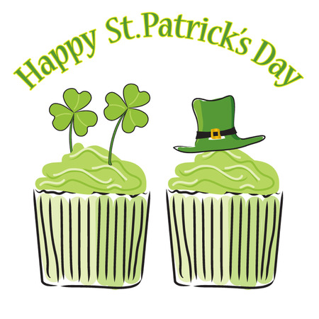 Saint Patricks Day cupckes