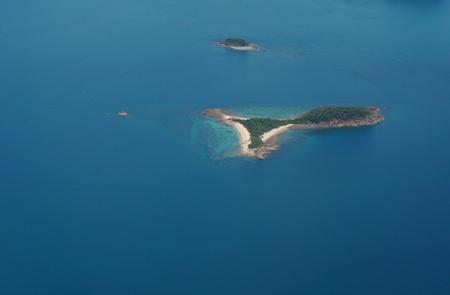 Islands in the Ocean- Aerial View