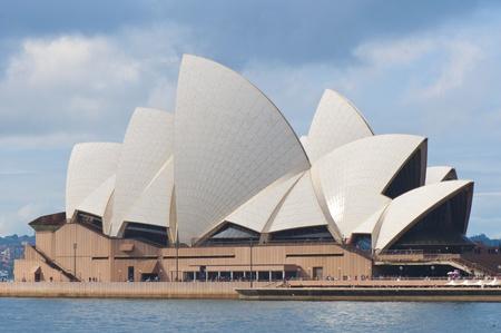 iconic: Sydney, Australia, July 17, 2011 - The Iconic Sydney Opera House Building