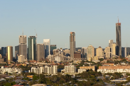 Brisbane, Australia, September, 30, 2011 - Early Morning Brisbane City View