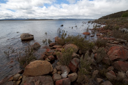 The Great Lake, Tasmania, Australia
