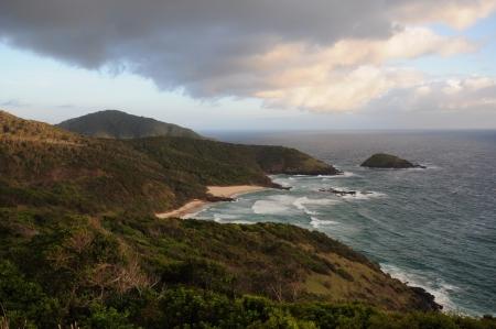 unspoilt: Landscape- Ocean and Hills at Sunrise, Australia