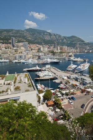 Port Hercule, Monaco Stock Photo