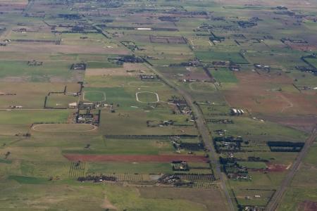 Rural Victoria, Australia, Aerial View