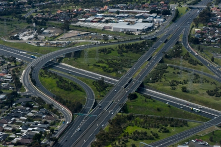 Highway to Melbourne, Aerial View
