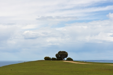 Rural Landscape Stock Photo