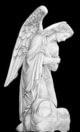 Series of Cemetery Angels from New Orleans Stock Photo - 1230795