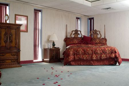 suite: Large Hotel suite bedroom