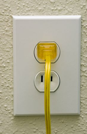 conduction: Power outlet Stock Photo
