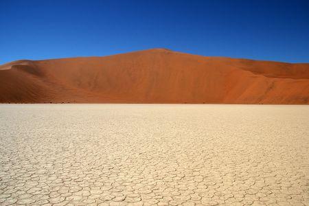 vlei: Dead Vlei, Namib desert, Sossusvlei, Namibia