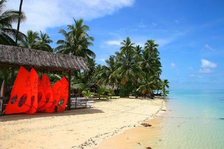 siervo: Sue�o Playa Para�so tropical del Pac�fico Sur, Fiji