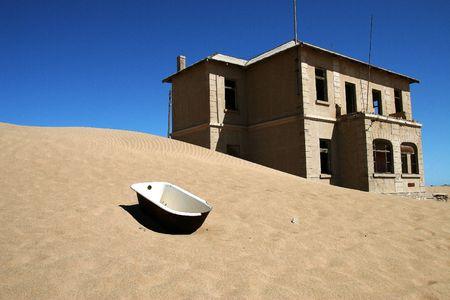 abandonment: Kolmanskop Ghost Town, Namibia