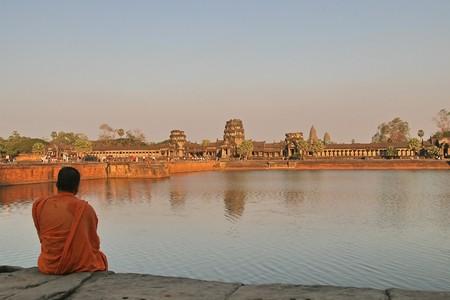 angkor: Ruins of Angkor, Cambodia Stock Photo