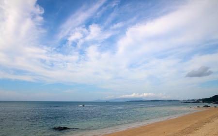 okinawa: Okinawa sea Stock Photo