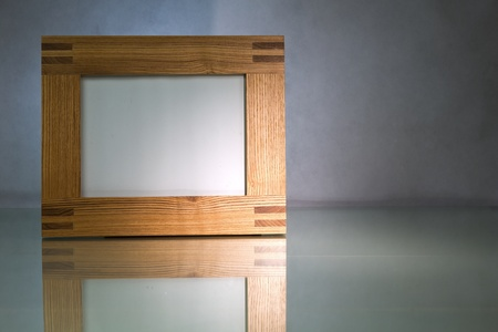 solid: Solid wooden blank picture frame