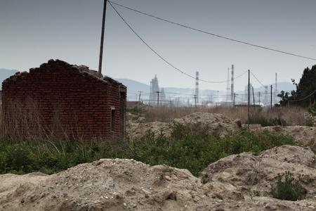 paesaggio industriale: desolato paesaggio industriale