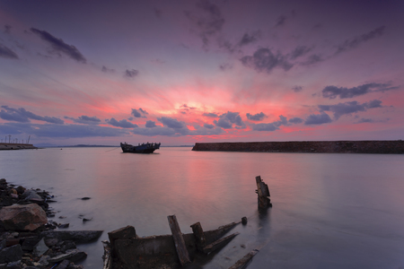 rosy: The rosy clouds and wreck