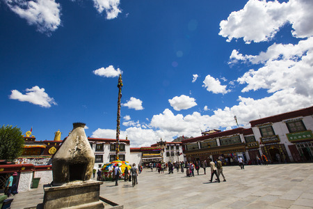 petitions: Jokhang temple square Editorial