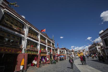 barker: Tibet Lhasa Barker Editorial