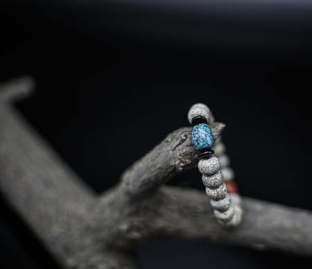 onyx: South onyx turquoise bracelet