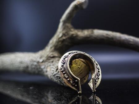 castings: Bronze bracelet Stock Photo