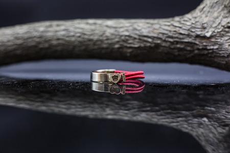 Red Ring bracelet