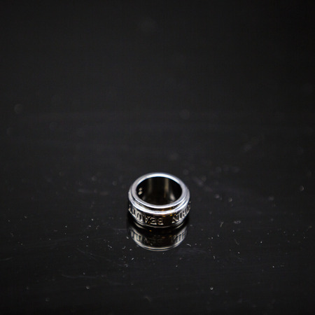 platinum: Ring in Platinum Stock Photo