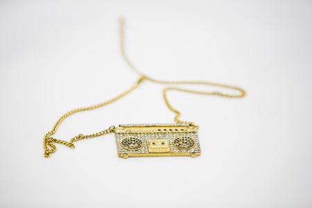 grabadora: Grabadora de collar colgante