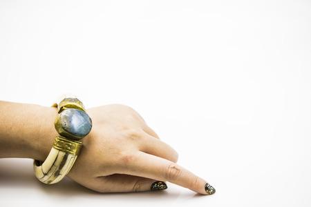 sapphire: Zafiro dedo-pulsera