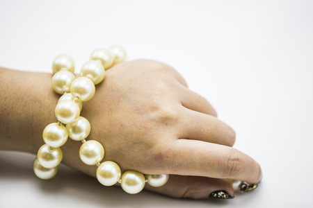 freshwater pearl: Large Pearl Necklace bracelets