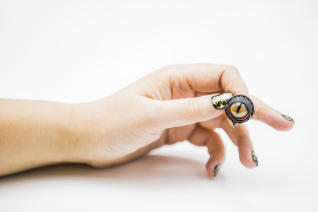monocular: Eye ring