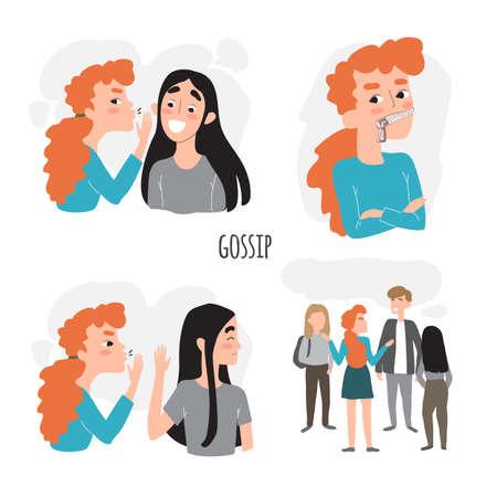 friendship gossip and secrets. Don t gossip. Gossip Girl.