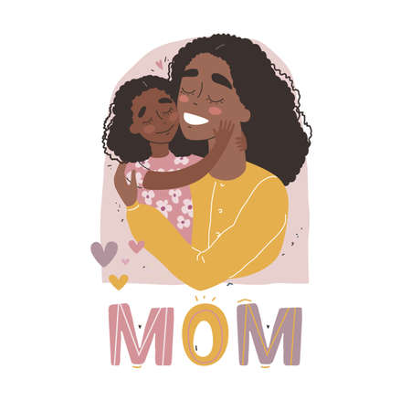 Mothers Day greeting card. I love you Mom