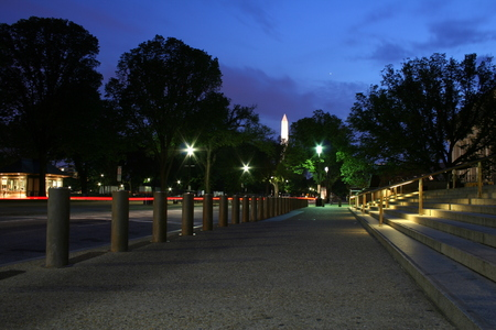 shaddow: Washington DC obelisk at night