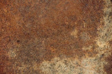 corrosive: old rusty and corrosive sheet metal. background