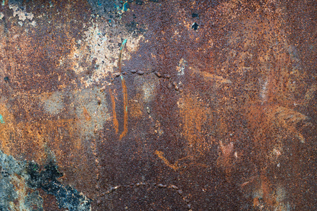 Dark old grunge rusty metal texture background. Stockfoto