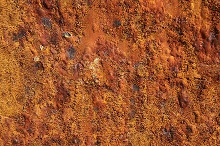Rusty iron metal surface texture background