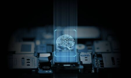 Computer and mobile phone system is operated by artificial intelligence hardware chip set.